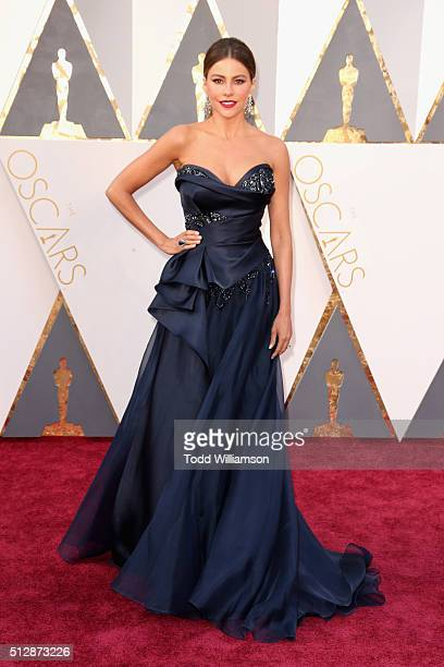 Actress Sofia Vergara attends the 88th Annual Academy Awards at Hollywood Highland Center on February 28 2016 in Hollywood California