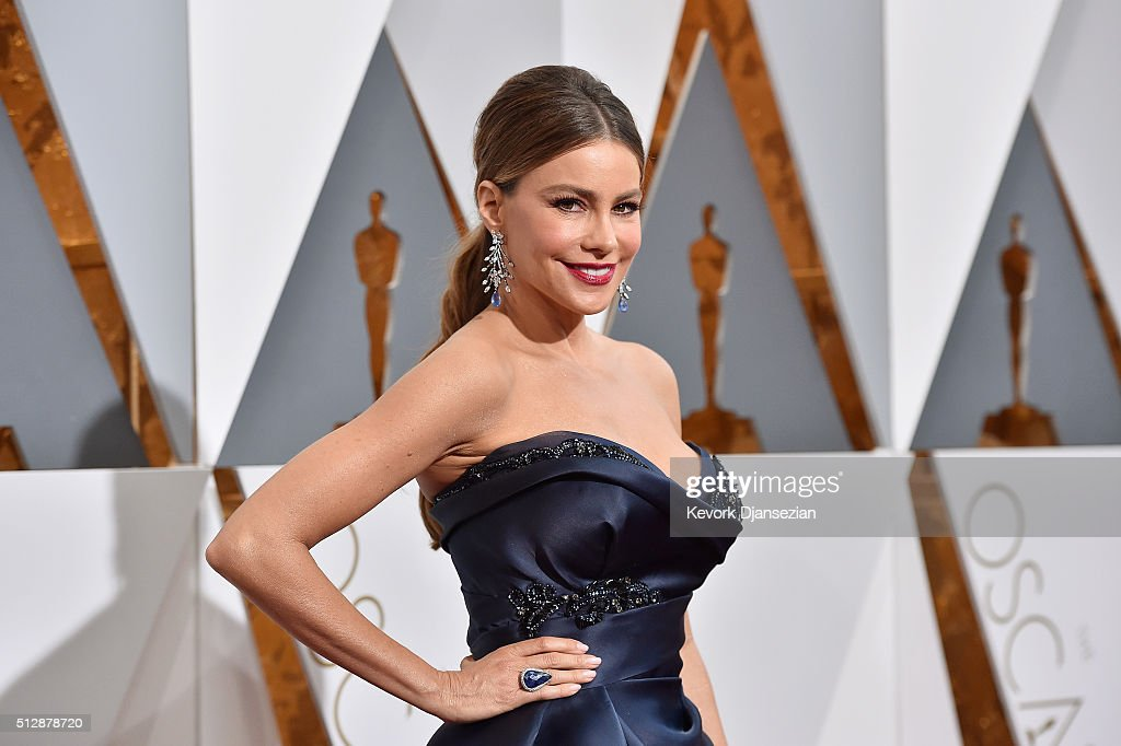 Actress Sofia Vergara attends the 88th Annual Academy Awards at Hollywood & Highland Center on February 28, 2016 in Hollywood, California.