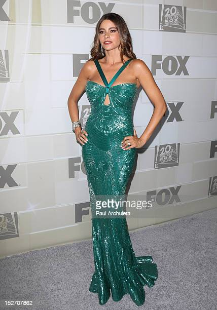 Actress Sofia Vergara attends the FOX Broadcasting Company Twentieth Century FOX Television and FX's post 64th Primetime Emmy Awards Party at Soleto...