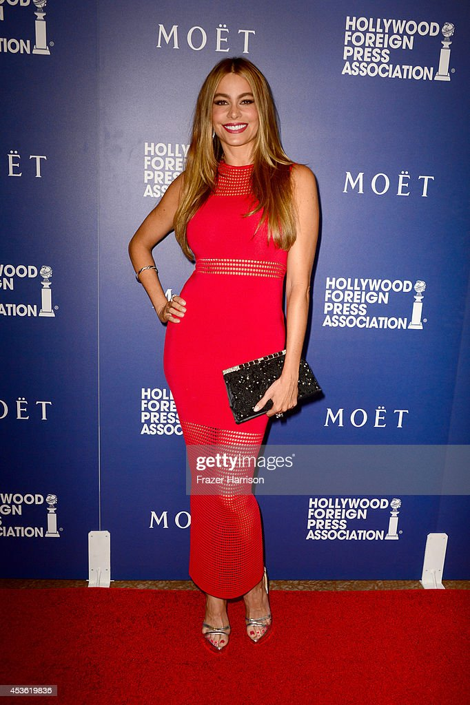 Actress Sofia Vergara attends the Hollywood Foreign Press Association's Grants Banquet at The Beverly Hilton Hotel on August 14, 2014 in Beverly Hills, California.