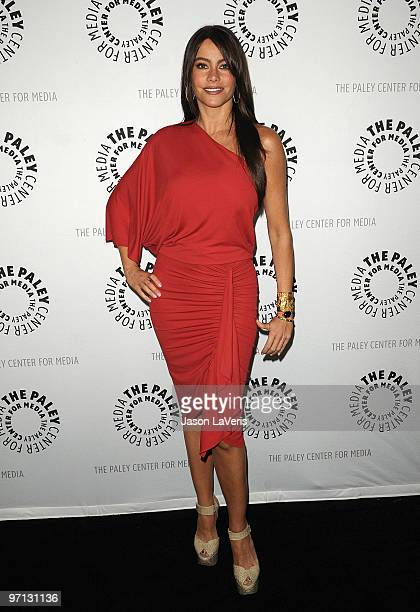 """Actress Sofia Vergara attends the """"Modern Family"""" event at the 27th Annual PaleyFest at Saban Theatre on February 26, 2010 in Beverly Hills,..."""