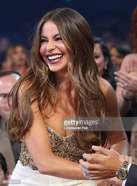 Actress Sofia Vergara attends the People's Choice Awards 2017 at Microsoft Theater on January 18 2017 in Los Angeles California