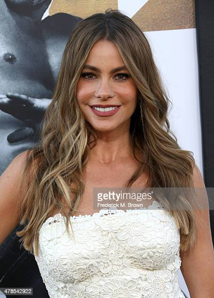 Actress Sofia Vergara attends the premiere of Warner Bros Pictures' 'Magic Mike XXL' at TCL Chinese Theatre IMAX on June 25 2015 in Hollywood...