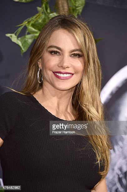 """Actress Sofia Vergara attends the Universal Pictures' """"Jurassic World"""" premiere at Dolby Theatre on June 9, 2015 in Hollywood, California."""