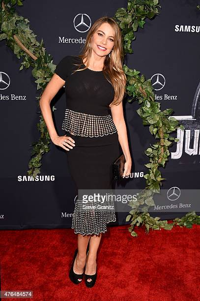 Actress Sofia Vergara attends the Universal Pictures' 'Jurassic World' premiere at the Dolby Theatre on June 9 2015 in Hollywood California
