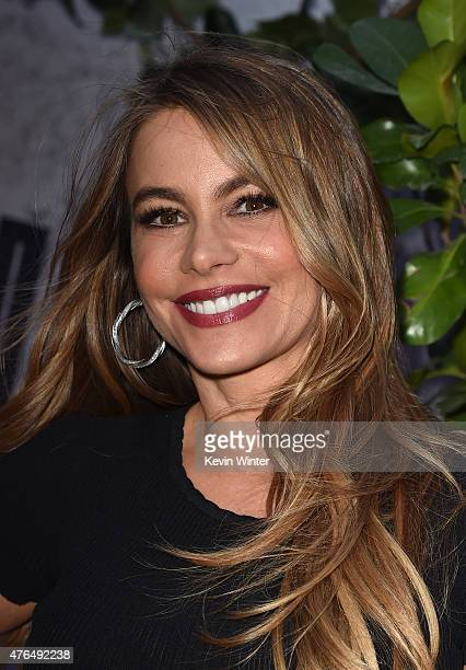 Actress Sofia Vergara attends the Universal Pictures' Jurassic World premiere at the Dolby Theatre on June 9 2015 in Hollywood California