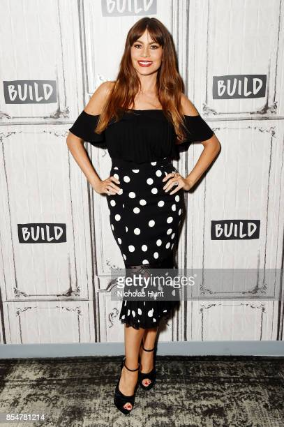 Actress Sofia Vergara Discuses The EBY Lingerie Line at Build Studio on September 27 2017 in New York City