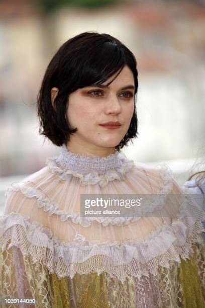 Actress Soko attends the photocall of The Dancer during the 69th Annual Cannes Film Festival at Palais des Festivals in Cannes France on 13 May 2016...