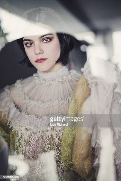 Actress Soko is photographed for Self Assignment on May 15 2016 in Cannes France