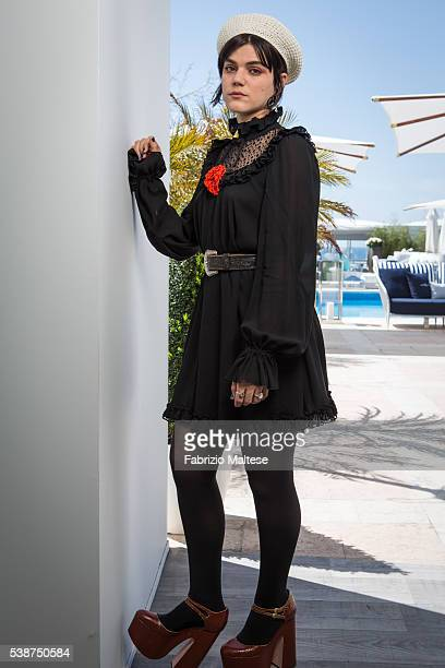 Actress Soko is photographed for The Hollywood Reporter on May 14 2016 in Cannes France
