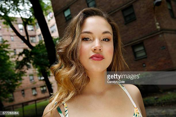Actress Solea Pfeiffer is photographed for Los Angeles Times on July 5 2016 in New York City PUBLISHED IMAGE CREDIT MUST READ Carolyn Cole/Los...