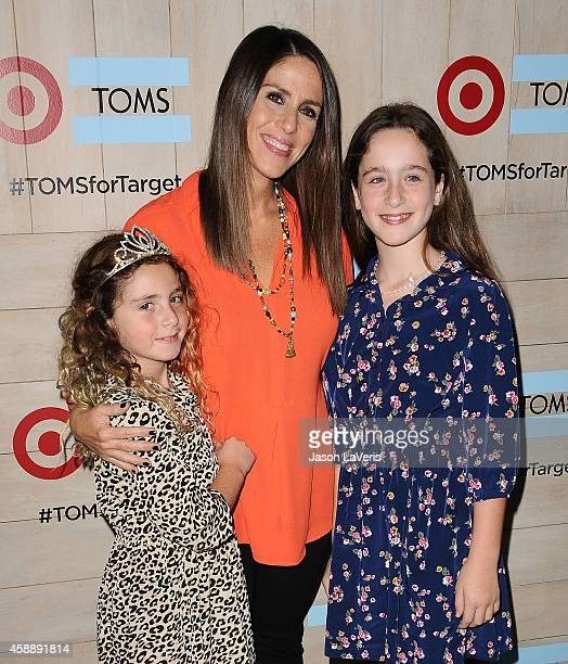 Actress Soleil Moon Frye and daughters Jagger Joseph Blue Goldberg and Poet Sienna Rose Goldberg attend the TOMS for Target launch event at The...