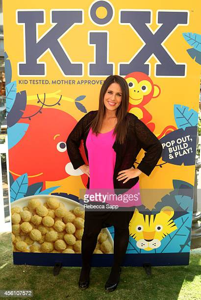 Actress Soleil Moon Frye attends KiX Adventure Stories And Crafts With Soleil Moon Frye at The Grove on September 25 2014 in Los Angeles California