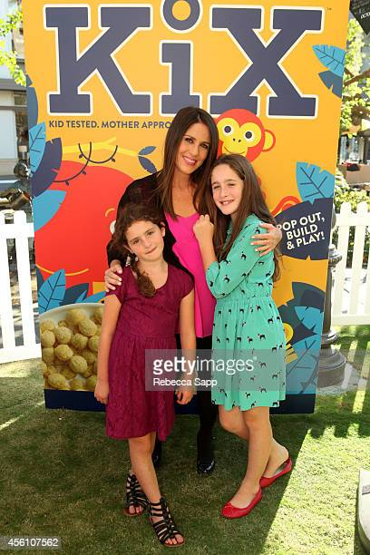 Actress Soleil Moon Frye with daughters Jagger and Poet attend KiX Adventure Stories And Crafts With Soleil Moon Frye at The Grove on September 25...