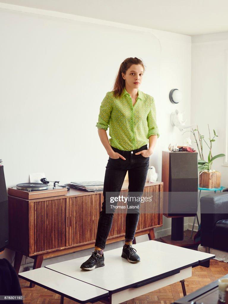 Actress Solene Rigot is photographed for Grazia Magazine ...