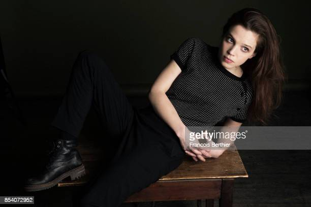 Actress Solene Rigot is photographed for Self Assignment on January 18 2017 in Paris France