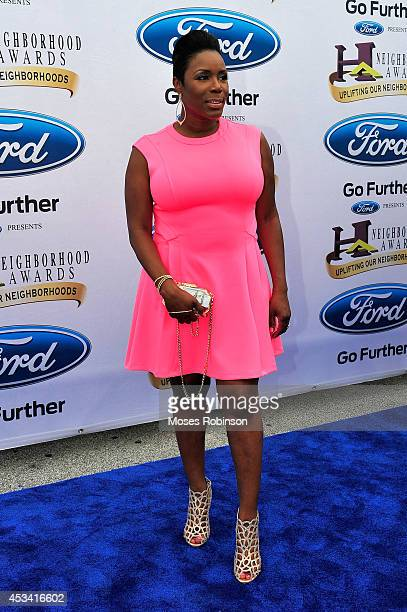 Actress Sommore attends the 2014 Ford Neighborhood Awards Hosted By Steve Harvey at the Phillips Arena on August 9 2014 in Atlanta Georgia