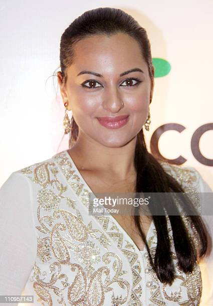 Actress Sonakshi Sinha on the final day of FICCIFrames 2011 seminar at Renaissance in Mumbai on March 25 2011