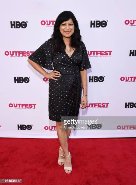 Actress Sonal Shah arrives at the 2019 Outfest Los Angeles LGBTQ Film Festival Closing Night Gala Premiere of Before You Know It at The Theatre at...