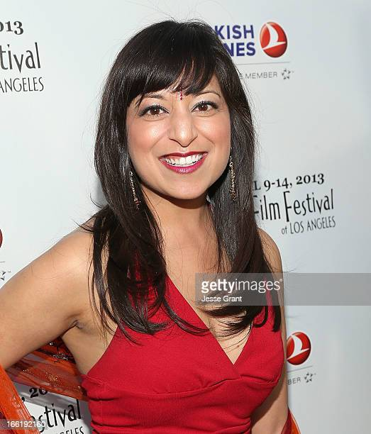 Actress Sonal Shah attends the Indian Film Festival of Los Angeles Opening Night Gala for Gangs Of Wasseypur at ArcLight Cinemas on April 9 2013 in...