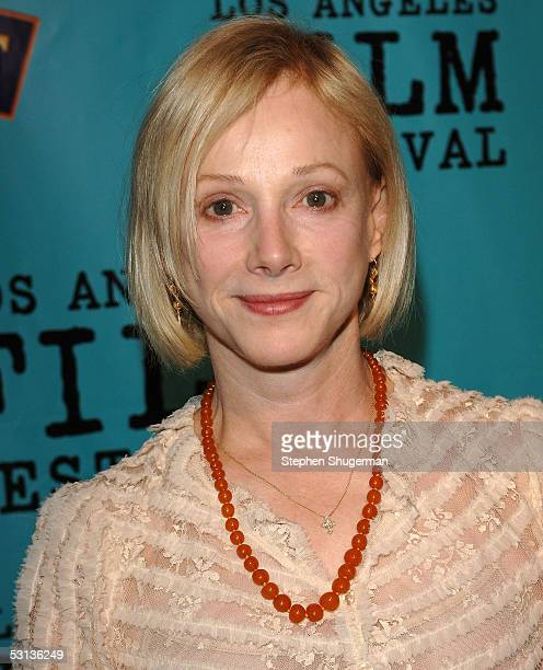 Actress Sondra Locke arrives at the premiere of Our Very Own at the Los Angeles Film Festival at the Director Guild of America on June 22 2005 in...