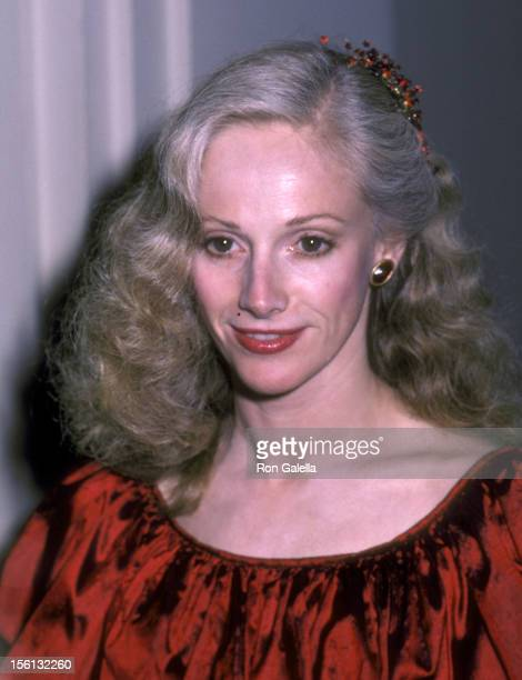 Actress Sondra Locke attends the 'Firefox' Premiere Party on June 14 1982 at the Home of Blanchette Rockefeller in New York City New York
