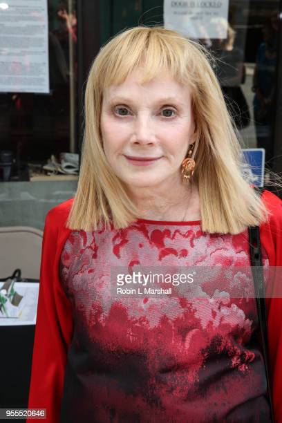 Actress Sondra Locke attends the screening of Alan Rudolph's Ray Meets Helen at Laemmle's Music Hall 3 on May 6 2018 in Beverly Hills California