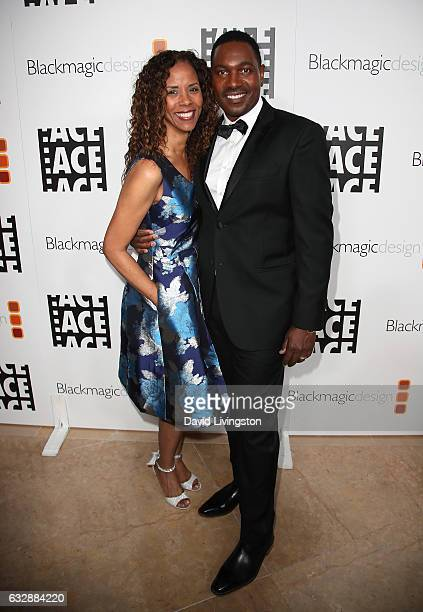 Actress Sondra Spriggs and husband actor Mykelti Williamson attends the 67th Annual ACE Eddie Awards at The Beverly Hilton Hotel on January 27 2017...