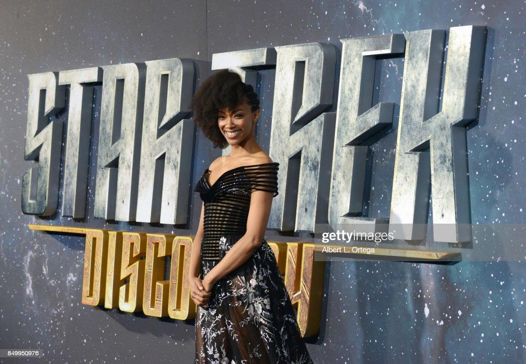 "Premiere Of CBS's ""Star Trek: Discovery"" - Arrivals : ニュース写真"