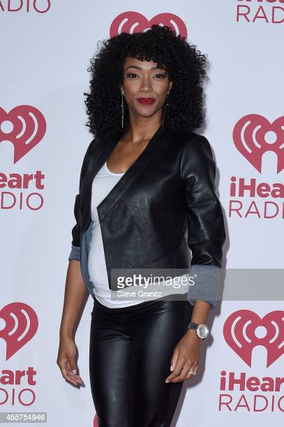 Actress Sonequa Martin-Green attends night 1 of the 2014 iHeartRadio Music Festival at MGM Grand Garden Arena on September 19, 2014 in Las Vegas,...