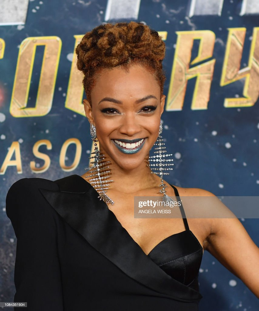 Sonequa Martin-Green from Star Trek: Discovery Is