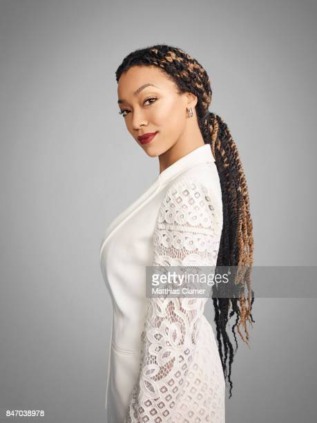 Actress Sonequa MartinGreen from 'The Walking Dead' is photographed for Entertainment Weekly Magazine on July 23 2016 at Comic Con in the Hard Rock...