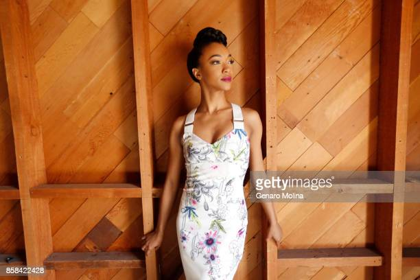 Actress Sonequa MartinGreen of CBS All Access 'Star Trek Discovery' is photographed for Los Angeles Times on August 1 2017 in Los Angeles California