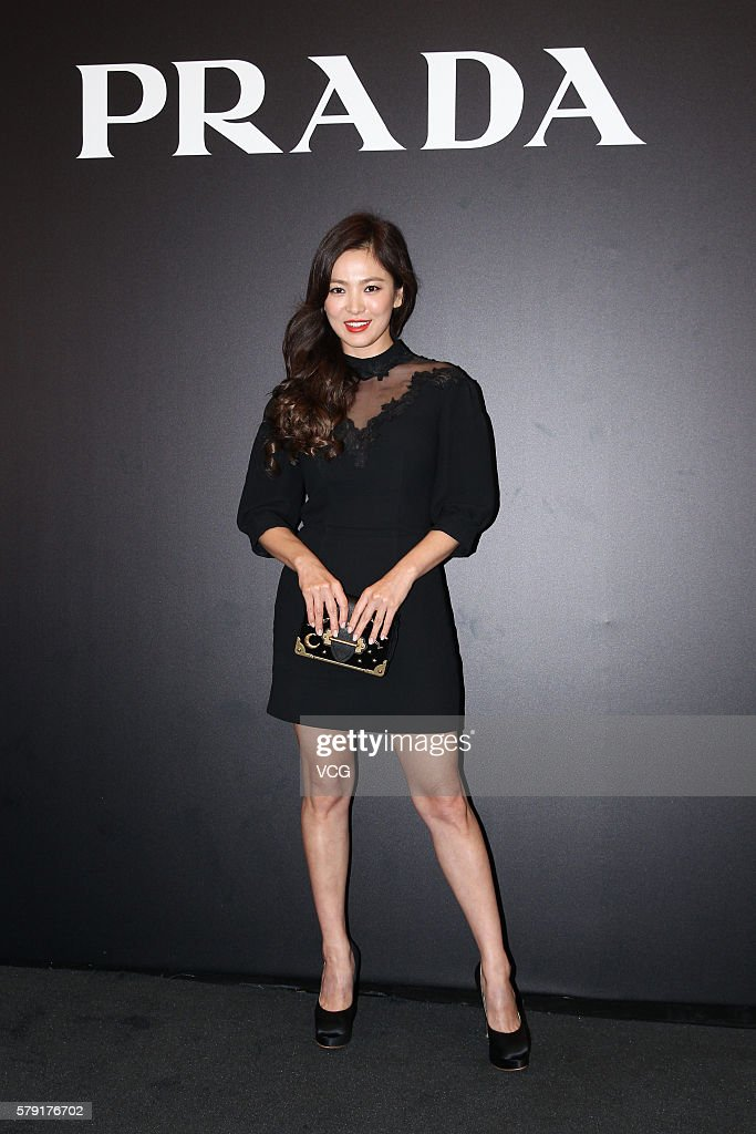 Celebrities Attends Prada Activity In Hong Kong