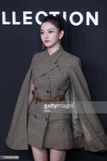 Actress Song Zuer attends Michael Kors event on October 15, 2020 in Shanghai, China.
