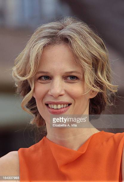 Actress Sonia Bergamasco attends 'Io e Te' photocall at Visconti Palace Hotel on October 18 2012 in Rome Italy