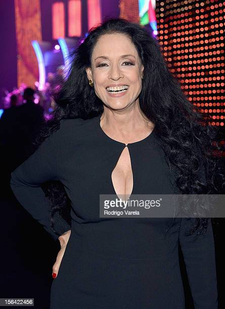 Actress Sonia Braga during the 2012 Person of the Year honoring Caetano Veloso at the MGM Grand Garden Arena on November 14 2012 in Las Vegas Nevada