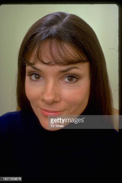 Actress Sonia Fox in character Sheila Harvey in television soap Crossroads, circa 1974.