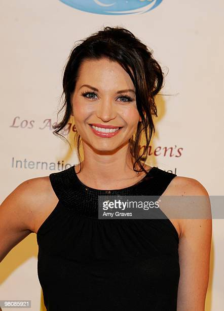 Actress Sonia Rockwell attends the Los Angeles Women's International Film Festival Opening Night Gala at Libertine on March 26 2010 in Los Angeles...