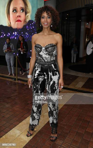 Actress Sonia Rolland is seen at 'Le Majestic' hotel during the 71st annual Cannes Film Festival on May 16 2018 in Cannes France