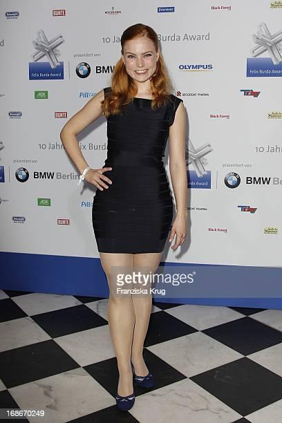 Actress Sonja Bertrams 10th Anniversary Of The Felix Burda Award Hotel Adlon in Berlin
