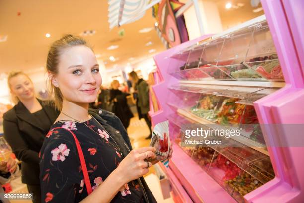 Actress Sonja Gerhardt during the Launch POP event on the occasion of the 20th anniversary of the Peek Cloppenburg store at Weltstadthaus on March 21...
