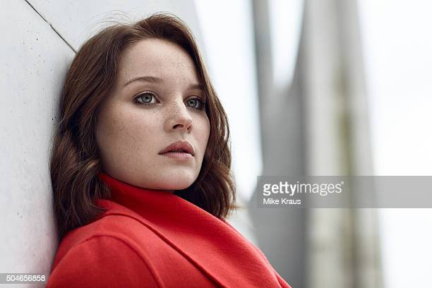Actress Sonja Gerhardt is photographed for Self Assignment on November 15 2015 in Berlin Germany