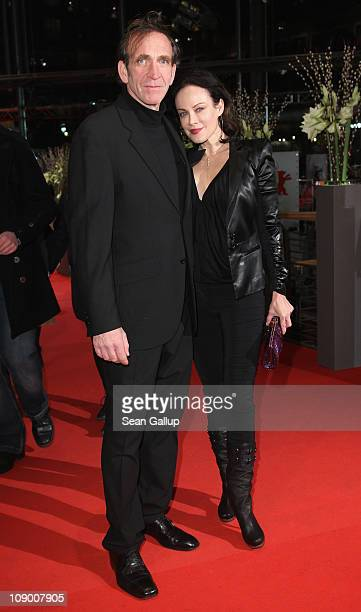 Actress Sonja Kirchberger and husband Jochen Nickel attend the 'Margin Call' Premiere during day two of the 61st Berlin International Film Festival...