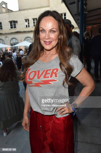 Actress Sonja Kirchberger at the Event Movie meets Media during the Munich Film Festival on June 30 2018 in Munich Germany