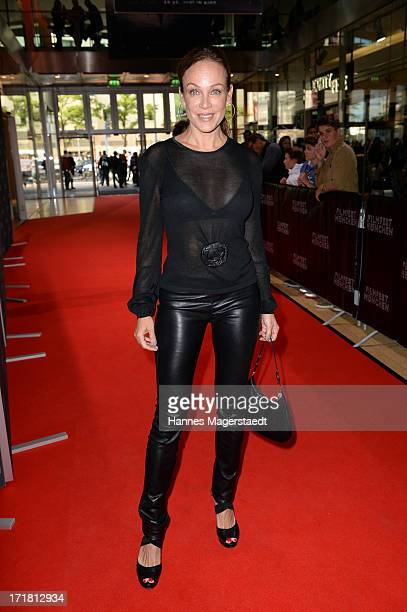 Actress Sonja Kirchberger attends Munich Film Festival 2013 Opening at the Mathaeser Filmpalast on June 28 2013 in Munich Germany