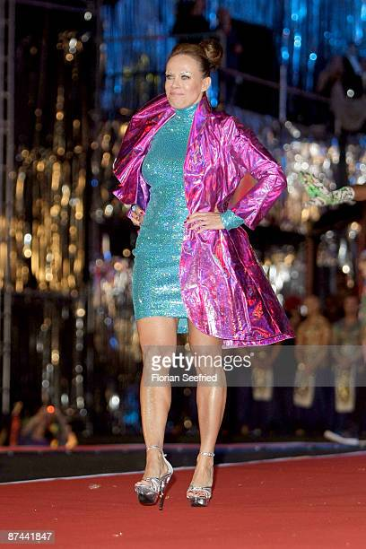 Actress Sonja Kirchberger attends the 'Life Ball 2009 at the city hall on May 16 2009 in Vienna Austria