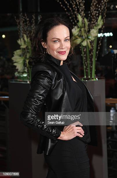 Actress Sonja Kirchberger attends the 'Margin Call' Premiere during day two of the 61st Berlin International Film Festival at Berlinale Palace on...