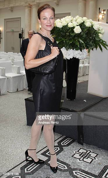 Actress Sonja Kirchberger attends the Montblanc De La Culture Arts Patronage Award 2010 at Hotel de Rome on June 8, 2010 in Berlin, Germany.