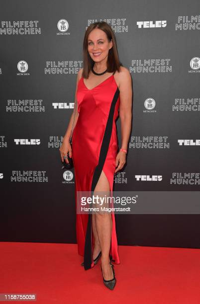 Actress Sonja Kirchberger during the opening night of the Munich Film Festival 2019 at Mathaeser Filmpalast on June 27 2019 in Munich Germany
